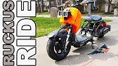 Honda Ruckus MODS for an everyday commuter ride  - YouTube