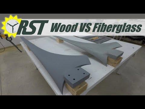 Fiberglass Wind Turbine Blade Vs Wood Blade