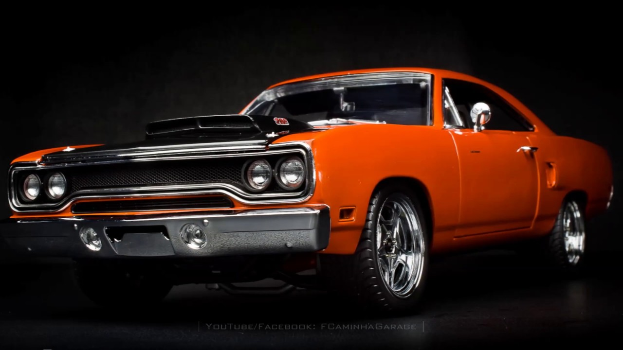 Fast And Furious 7 1970 Plymouth Road Runner Fcaminhagarage 1 18 Gmp You