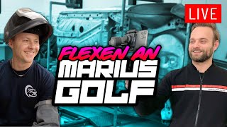 Live flexen an Marius Golf! | Philipp Kaess |