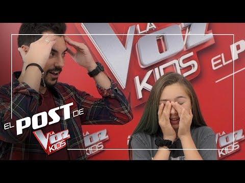 Top 5 de la semifinal de Bisbal y Vanesa Martín con los Carameluchis   El Post de La Voz Kids 2019