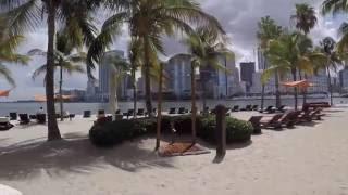 Vacation Getaways - Private Beach on the Mandarin Oriental Miami