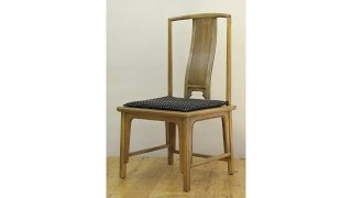 Remaking A Chair Back (cnc Meets Traditional); Andrew Pitts~furnituremaker