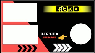 How to make outro for youtube with kinemaster android Hindi /outro template cool outro