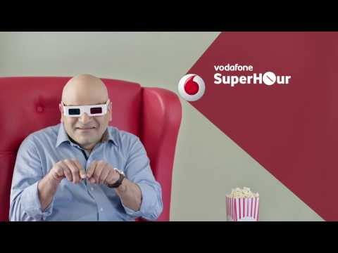 Vodafone SuperHour - Unlimited Movies with Unlimited internet