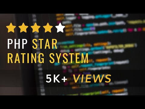 Php Star Rating System By Using For Loop Simple Best Tutorial - Find The Code Link Below