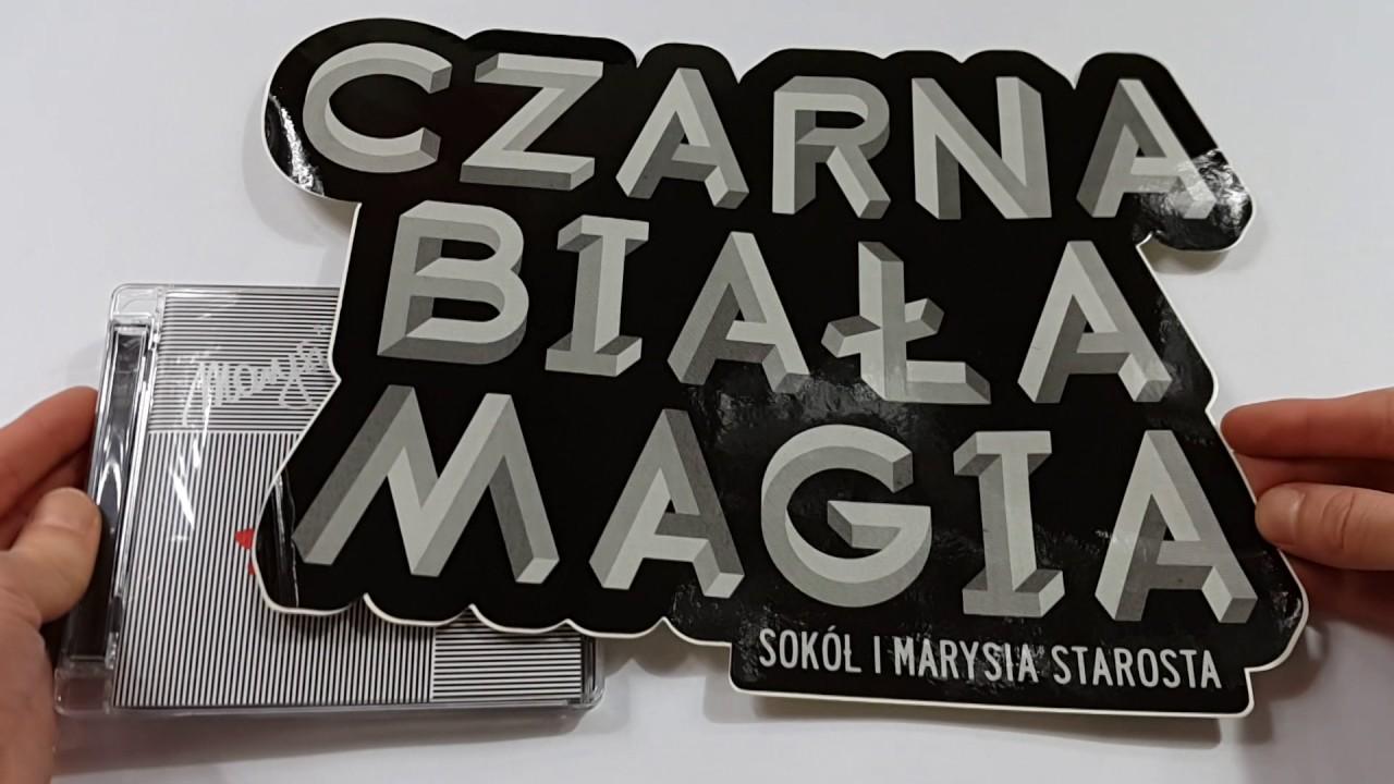 """Prezentacja płyty: SOKÓŁ I MARYSIA STAROSTA """"CZARNA BIAŁA MAGIA""""  EDYCJA LIMITOWANA"""