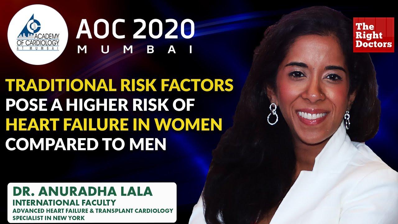 Risk Factors & Etiology of Heart Failure in Women | Dr. Anuradha Lala | AOC 2020