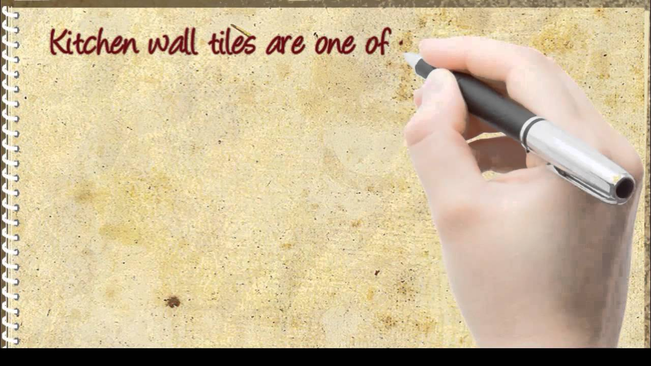 DIY Kitchen Wall Tiles Tips for Decorating Your Kitchen - YouTube
