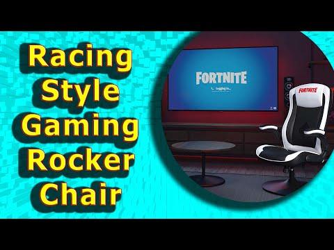 Best Fortnite Racing Style Gaming Rocker Chair 2020
