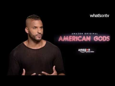 Ricky Whittle reveals his brutal prep for lead role in American Gods    What's On TV