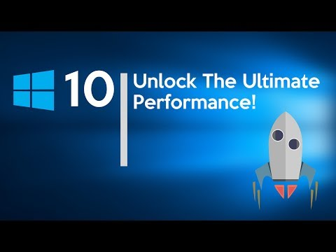 How To Enable Ultimate Performance Mode In Windows 10 (New)