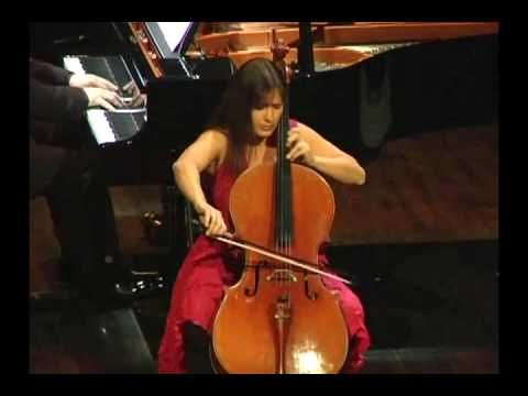 Velitchka Yotcheva - cello and Patrice Lare - piano