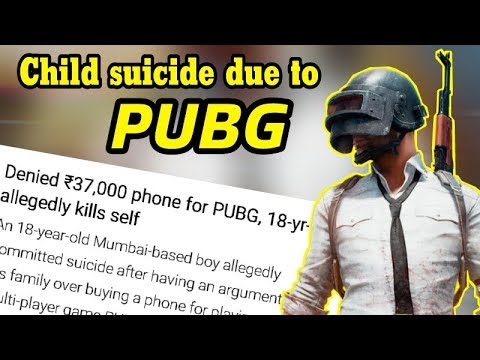 Boy Commit Suicide Because Of Pubg Shocking News Pubg