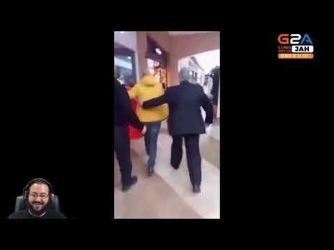 JAHREİN KARA CUMA'YA TEPKİ GÖSTEREN HALKI İZLİYOR