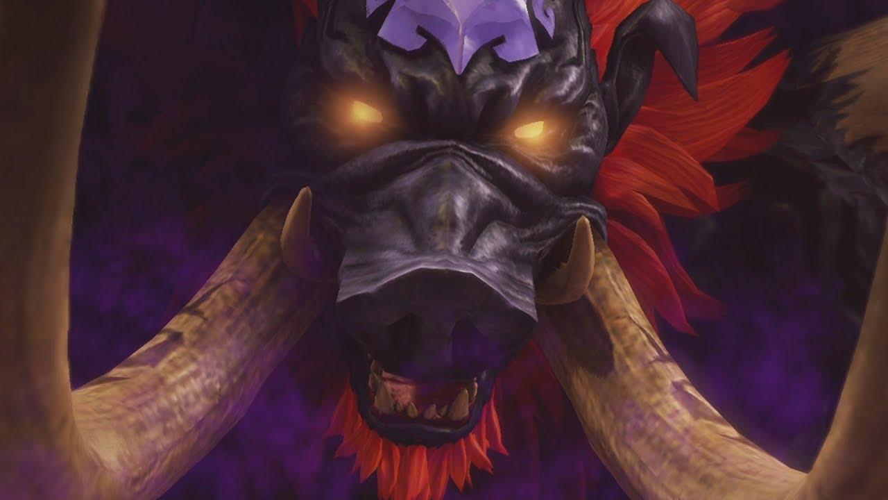 Hyrule Warriors Definitive Edition Final Boss And Ending Ganon Boss Fight Youtube