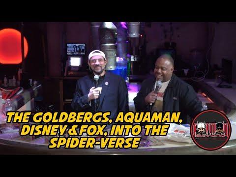 The Goldbergs, Aquaman, Disney & Fox, Into the Spider-verse
