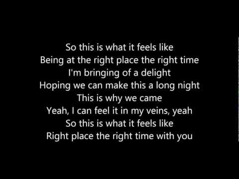 Olly Murs  Right Place Right Time Lyrics