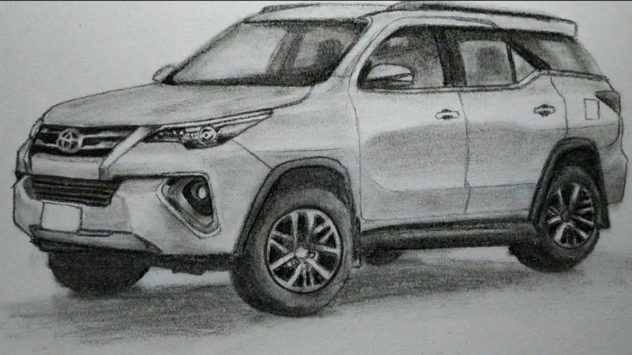 Toyota Fortuner 2019 Menggambar Toyota Fortuner 2019 Youtube