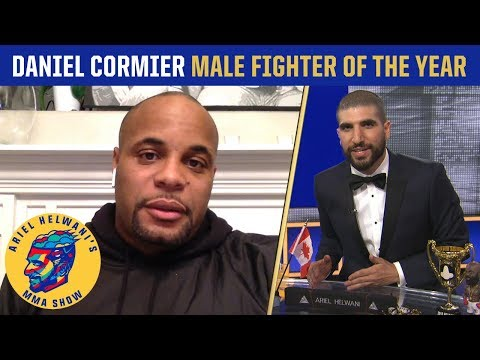 Daniel Cormier on Jon Jones, winning 2018 fighter of the year | Ariel Helwani's MMA Show