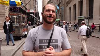 Preaching Christ Jesus at Wall Street, NYC