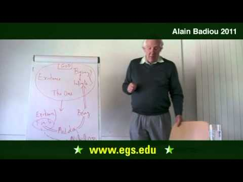 Alain Badiou. Toward A Positive Definition of The Infinite. 2011