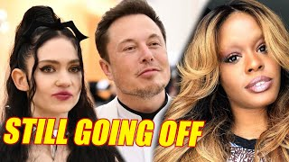 Azealia Banks Stuck On Grimes & Elon Musk | A Vlog-Documentary