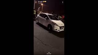 Bagarre entre des Gilets Jaunes et un automobiliste suite à un blocage 19/11/18