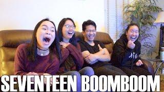 Video SEVENTEEN (세븐틴)- BoomBoom (Reaction Video) download MP3, 3GP, MP4, WEBM, AVI, FLV Maret 2018