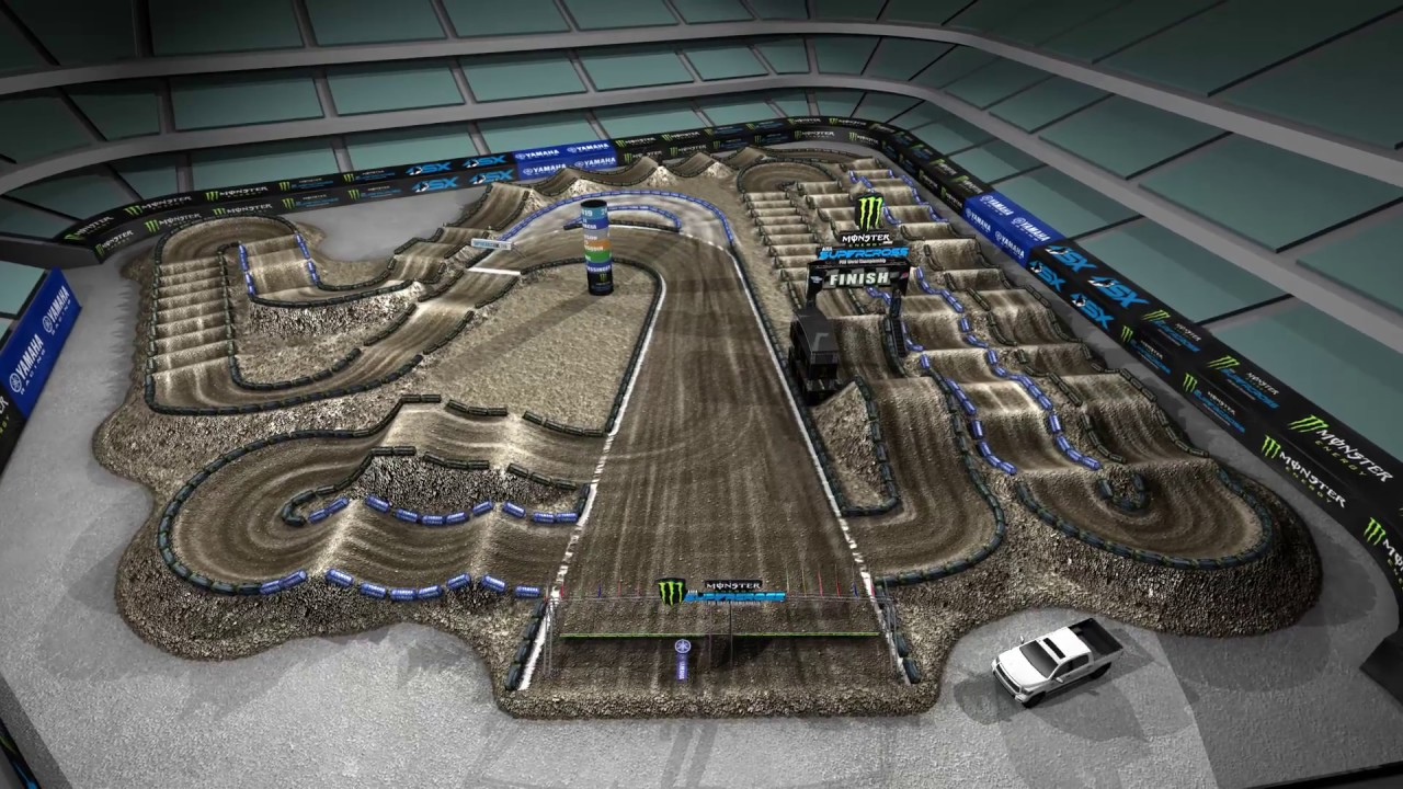 Yamaha Track Map: Anaheim 2 | Supercross Live on explorers map, dish network map, cmc map, coverage map, helsingborg map, the narrows map, wal mart map, ultima 3 map, manitou map, rmh map, jvc map, john deere map, vanguard airlines route map, marshall map, all quiet on the western front map, harley davidson map, bucket list map, usc housing map, loran map, zoom map,