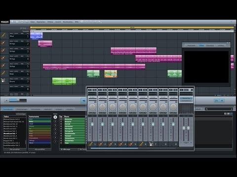 Magix Music Maker 2014 - Tutorial: Wie erstelle ich Musik passend zum Film?