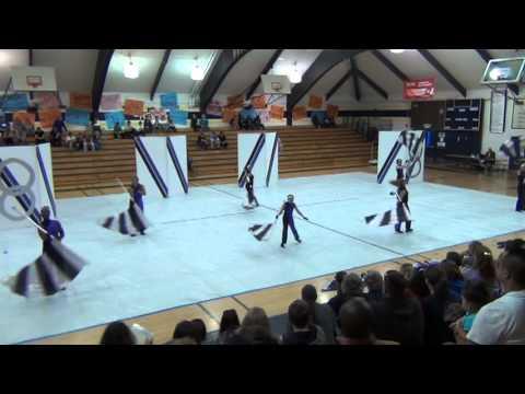 McCaffrey Middle School Winter Guard 2013