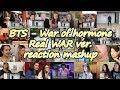 BTS War Of Hormone 호르몬 전쟁 Dance Practice Real War ver.|reaction mashup