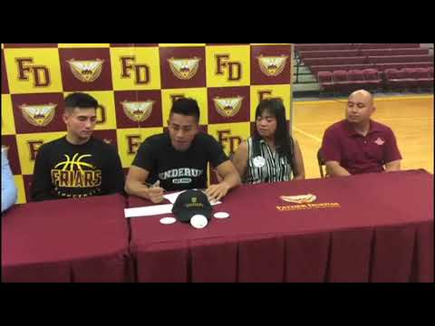 FD's Kyle Gaitin gets basketball scholarship in Philippines