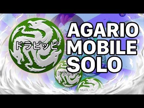 AGARIO MOBILE SOLO DESTROYING TEAMS (Agar.io Mobile Gameplay)