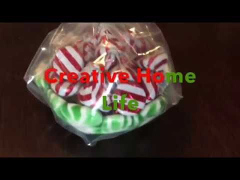 diy melted peppermint christmas candy bowl easy - Christmas Candy Dishes
