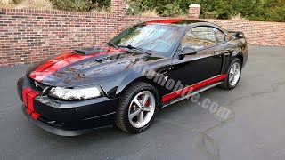 2003 Ford Mustang Mach 1 for sale Old Town Automobile in Maryland
