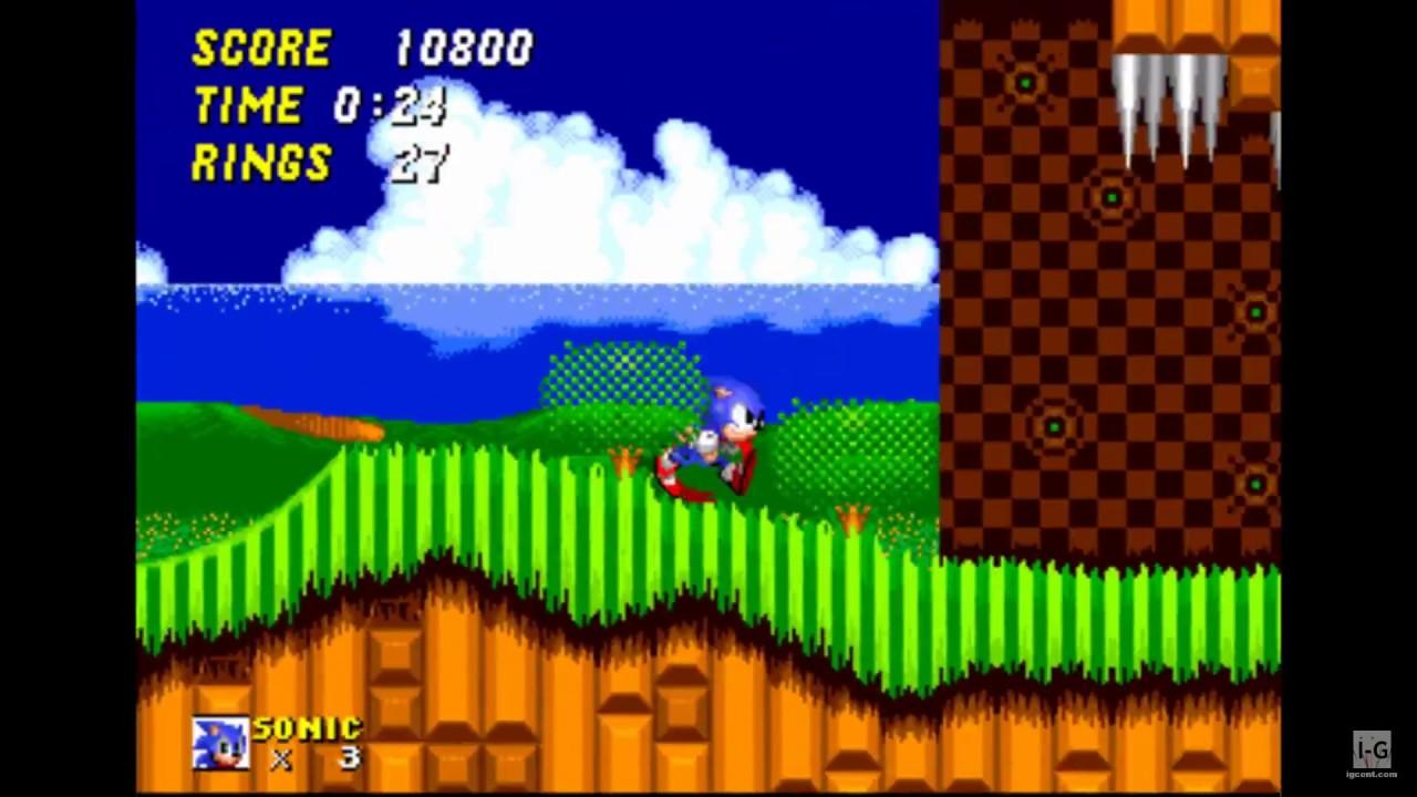 Sega Genesis Collection PSP Gameplay HD - YouTube