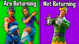 5 RARE SKINS RETURNING IN 2019! (Fortnite Skins Coming Back) (2019 Predictions)