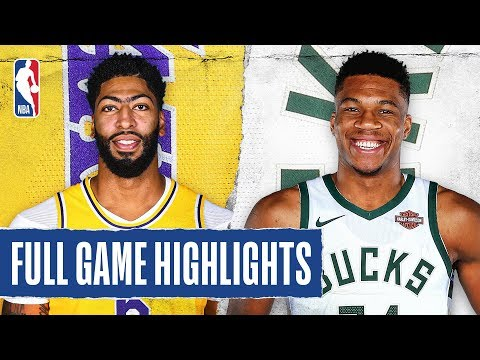LAKERS At BUCKS | FULL GAME HIGHLIGHTS | December 19, 2019