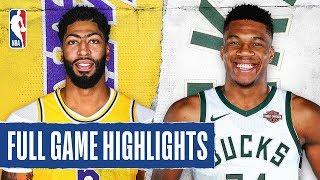 Lakers At Bucks | Full Game Highlights | December 19, 2019