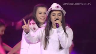 Ivana Petkovska and Magdalena Aleksovska - Pletenka (F.Y.R. Macedonia) 2015 LIVE JESC 2015