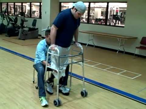 Brent Adams Learning to Walk Again