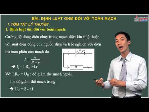 Bài tập Vật lý 11 - Dòng điện không đổi - Định luật ohm - Cadasa.vn