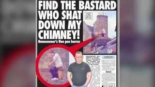 lalaki sa scotland ginawang inodoro ang chimney ng bahay