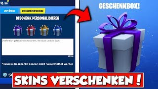 🎁SKINS GIFT in Fortnite!! 🎁