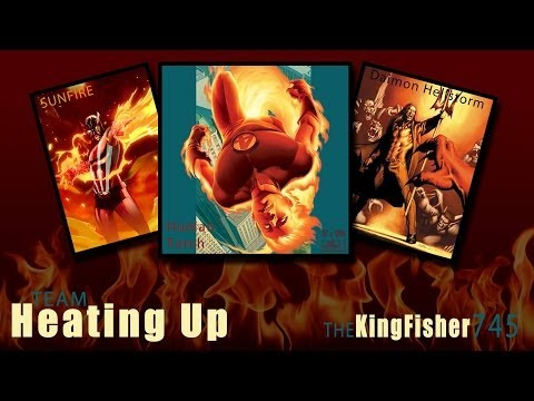 Marvel Avengers Alliance PVP: Team Heating Up (Sunfire And Human Torch)
