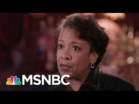 Loretta Lynch: Department Of Justice Took James Comey Letters Seriously | Rachel Maddow | MSNBC