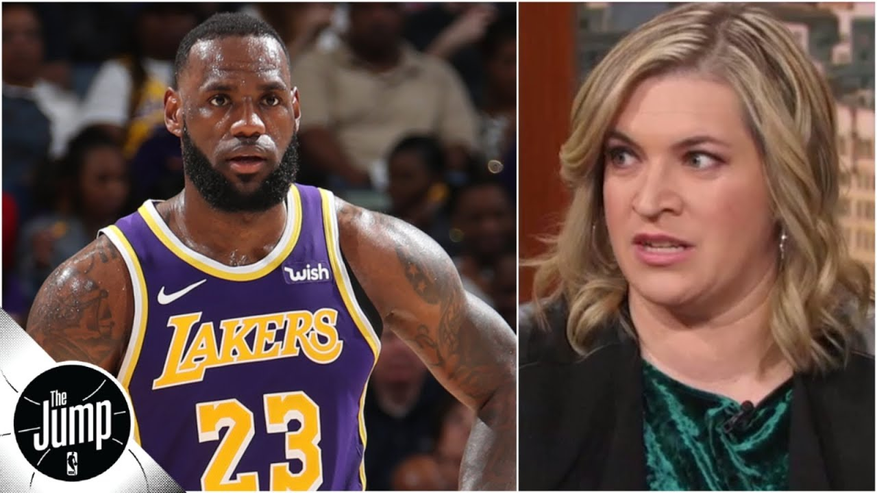 LeBron James doesn't get to question Lakers' sense of urgency yet - Ramona Shelburne | The Jump