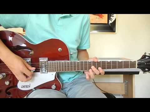 The Beatles - Everybody's Trying to Be My Baby - Lead Guitar Cover